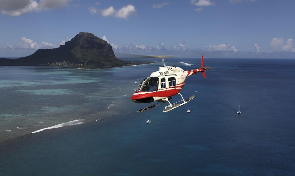 Excursions en Hélicoptère - sejour ile maurice