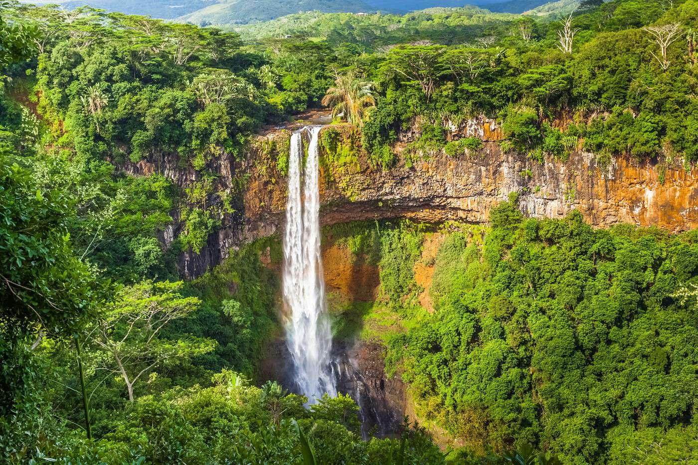 Les cascades à l'Ile Maurice- vacances ile maurice
