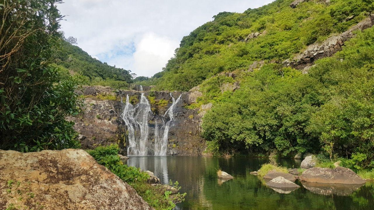 7 cascades ile maurice