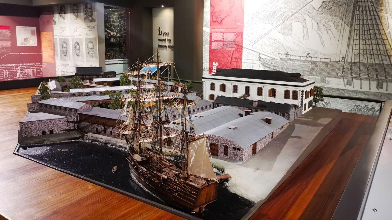 Musee ile Maurice - L'Aapravasi Gaht